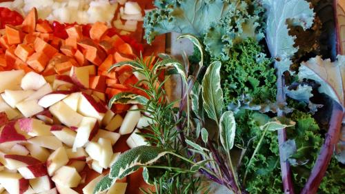 Veggies for hash