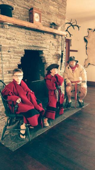 Boys at grand portage