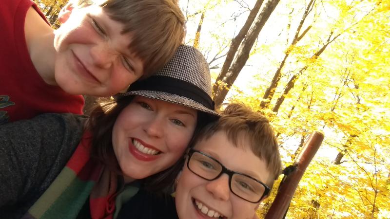 Joy at the arboretum